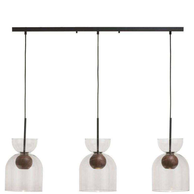 Skylar Hanglamp 3-Lamps - Antraciet