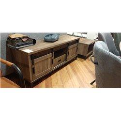 Levi tv meubel 150 cm breed industrieel