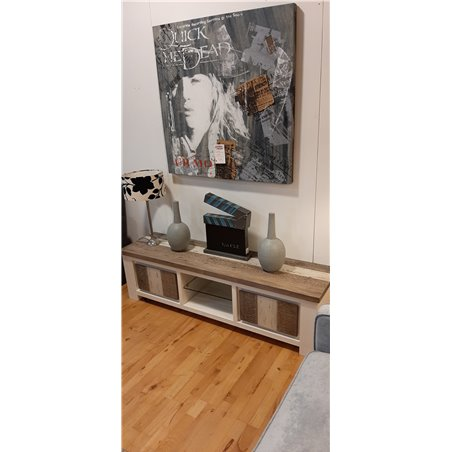 Pontiac tv meubel 160 cm boat wood