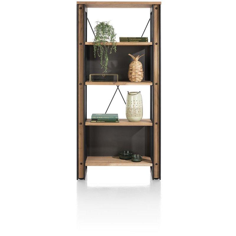 Makalu, boekenkast 90 cm - 4-niches